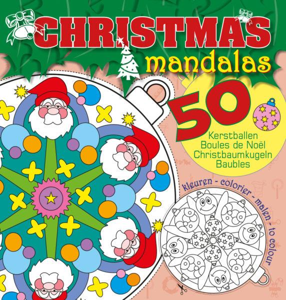 Christmas mandala's