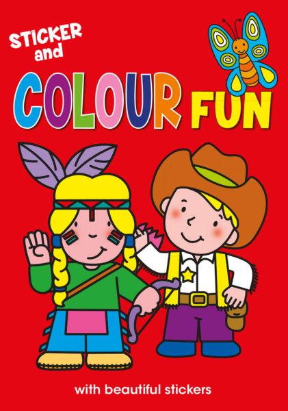 Sticker and colour fun