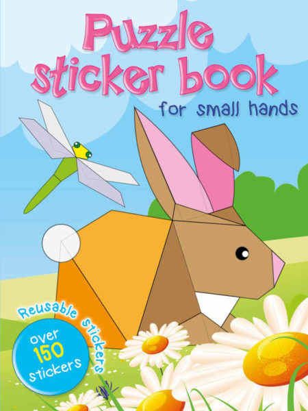 Puzzle sticker book