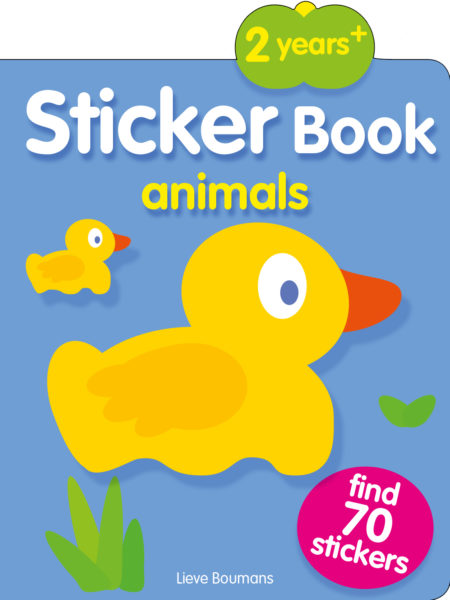 Olala: Stickerbooks apple