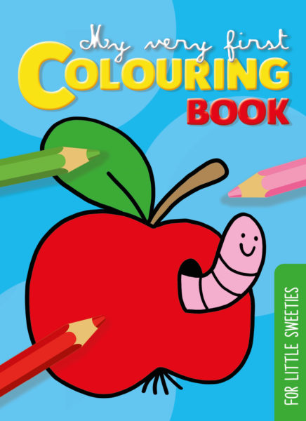 My very first colouring book