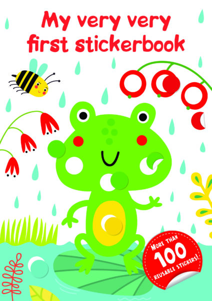 My very very first sticker book