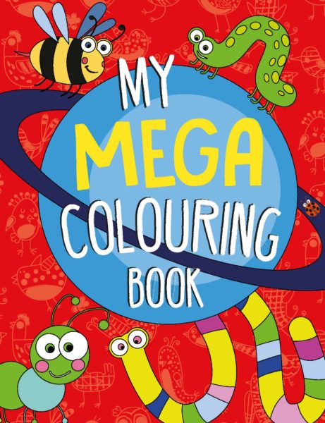 My mega colouring book