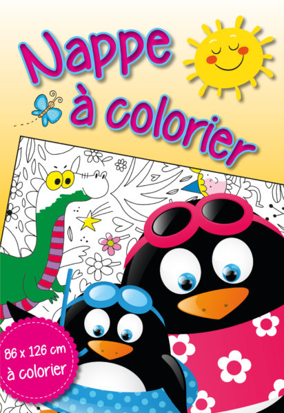 Table cloth colouring book 2