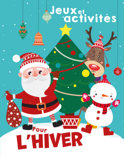 Jeux, activités et coloriages pour l'hiver