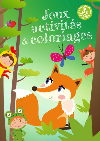Jeux, activités et coloriages