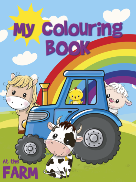 Farm Colouring Book